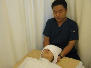 横須賀市北久里浜の鍼灸整骨院ひまわり 首こり治療の写真