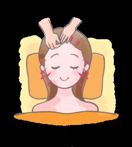 横須賀市北久里浜の鍼灸整骨院ひまわり 美容鍼施術画像