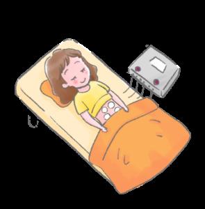 横須賀市北久里浜の鍼灸整骨院ひまわり 楽トレ施術画像